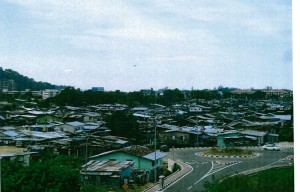Kg. Sembulan within the Kota Kinabalu. the city of North Borneo- needed urban renewal